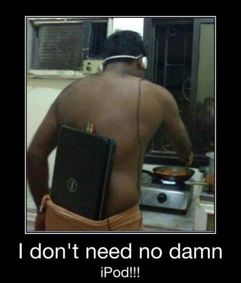 Don't Need No iPod
