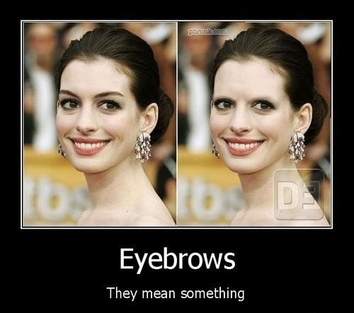 Eyebrows - really funny picture