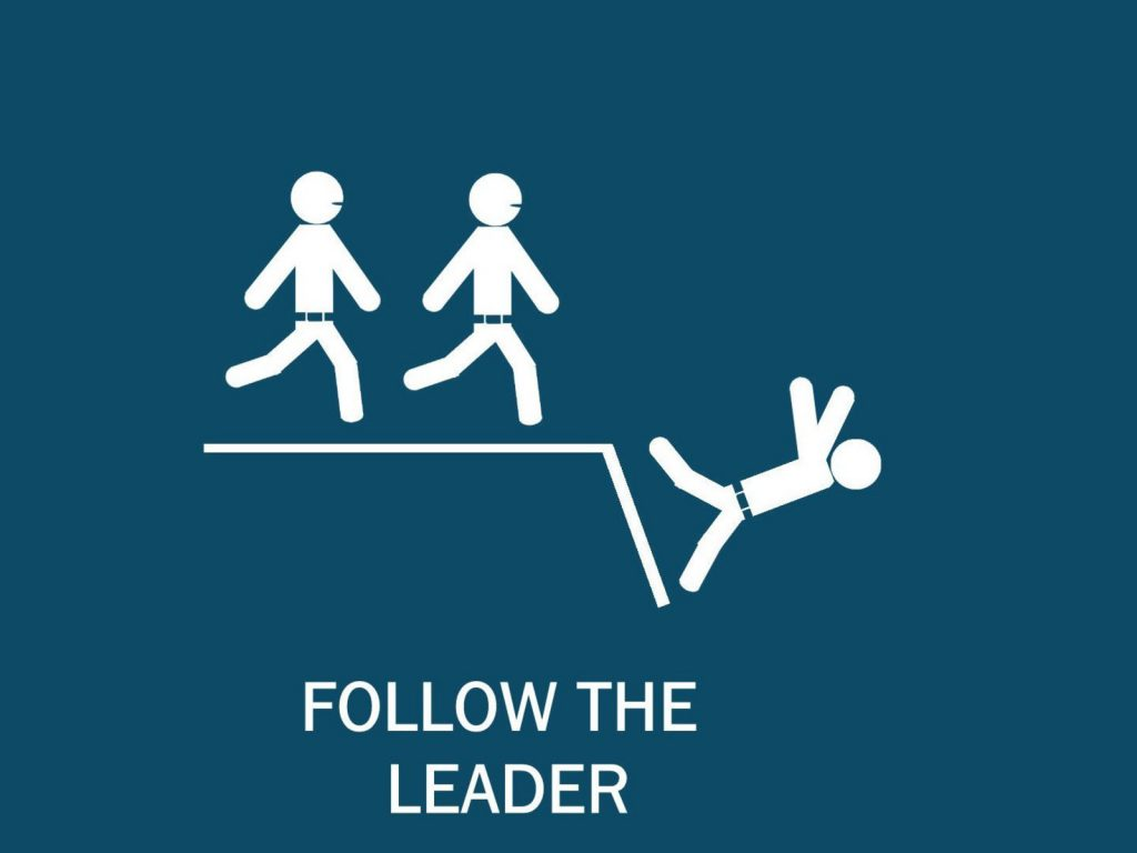 Follow The Leader - funny wallpaper - funny desktop background