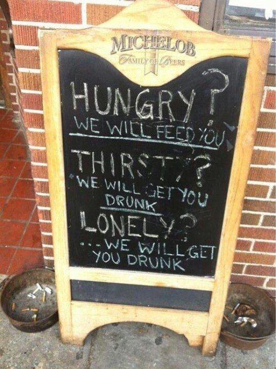 Hungry? Thirsty? Lonely? - funny image meme