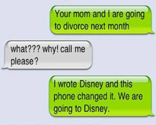 We Are Going To Divorce - Funny SMS Fail