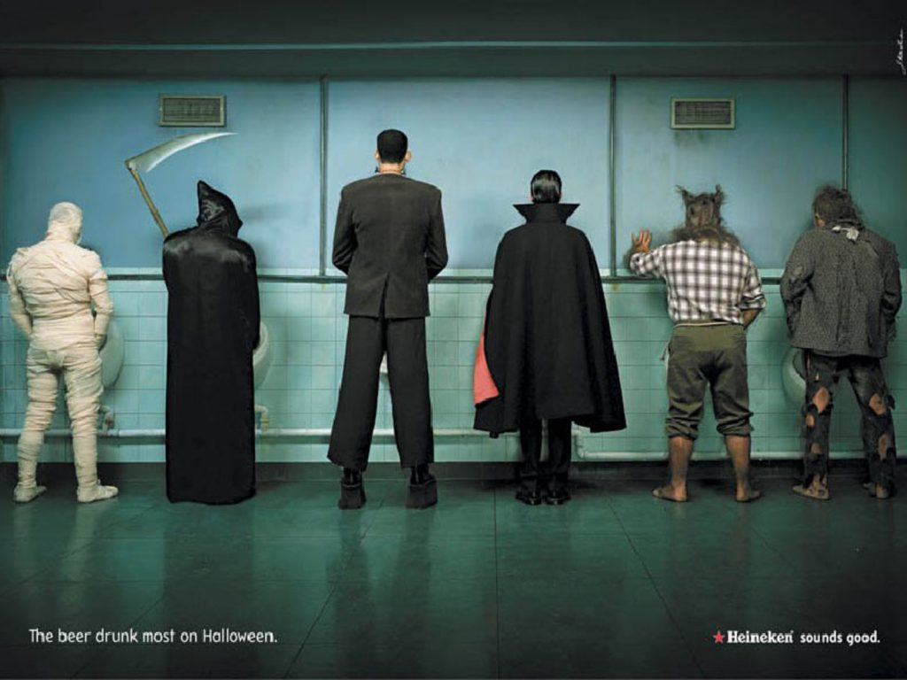 The Bathroom On Halloween - funny wallpaper - funny desktop background