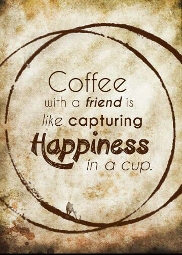 happiness in a cup - coffee quote