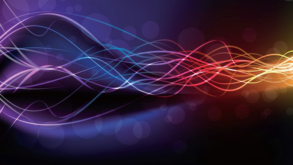 Abstract Wavy Lines - Ultra HD Wallpaper background