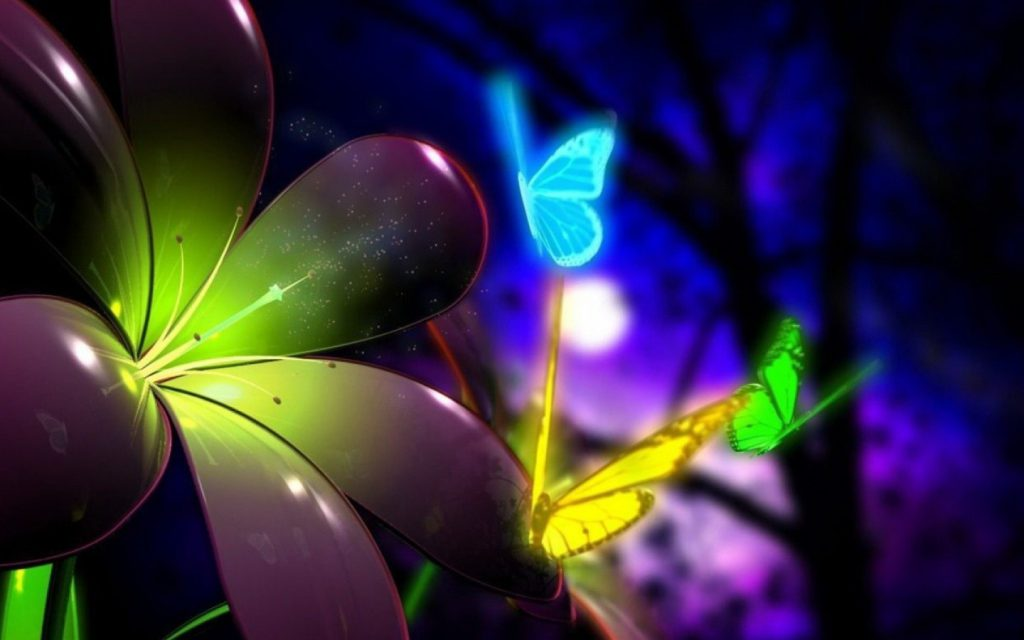 3d Butterflies Wallpaper - HD tablet wallpaper background