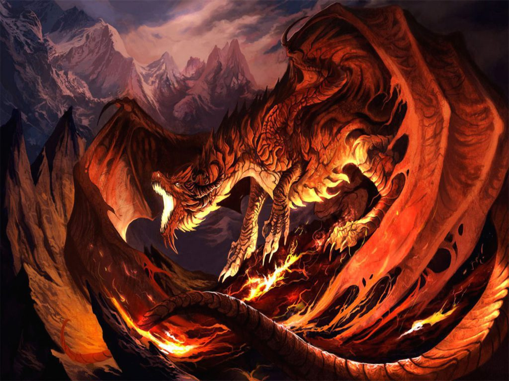Awesome HD Dragon Wallpaper background