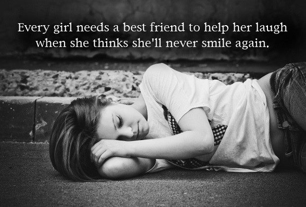 Every Girl  Needs A Best Friend - quote