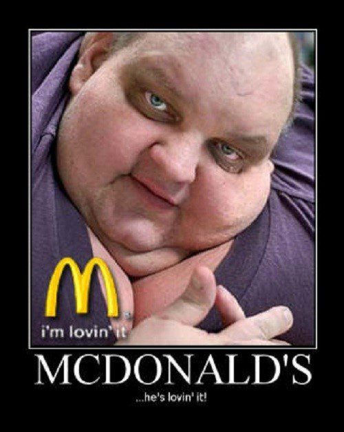 He's Lovin It - Hilarious Caption Photo
