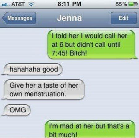 Give Her A Taste - Text Message Fail - Funny SMS