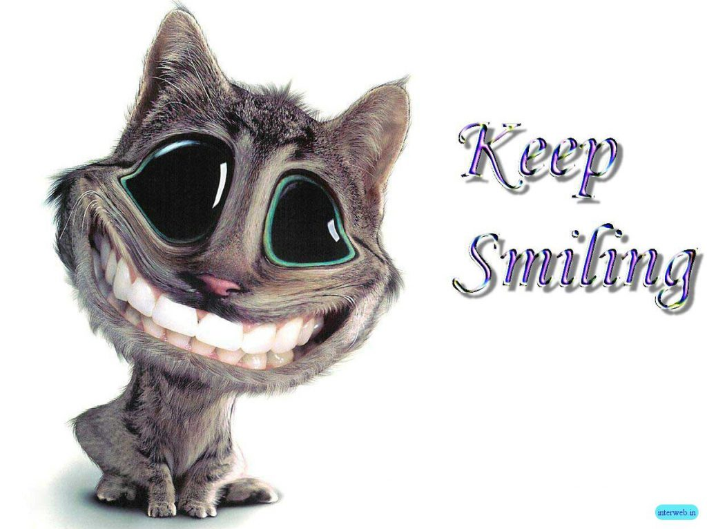Keep Smiling - Funny Wallpaper - Funny Desktop Background