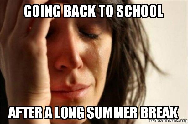 long summer break