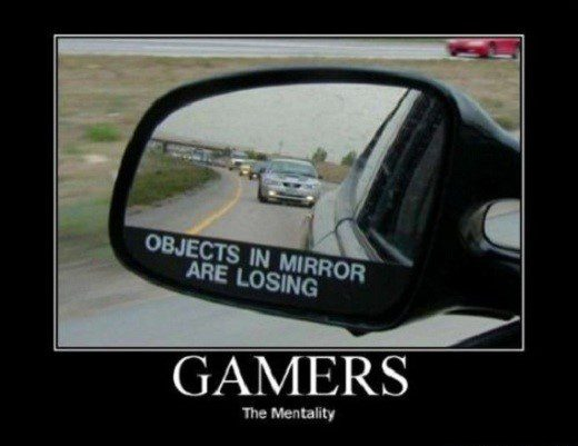 Gamer Mentality - Funny Caption Photo