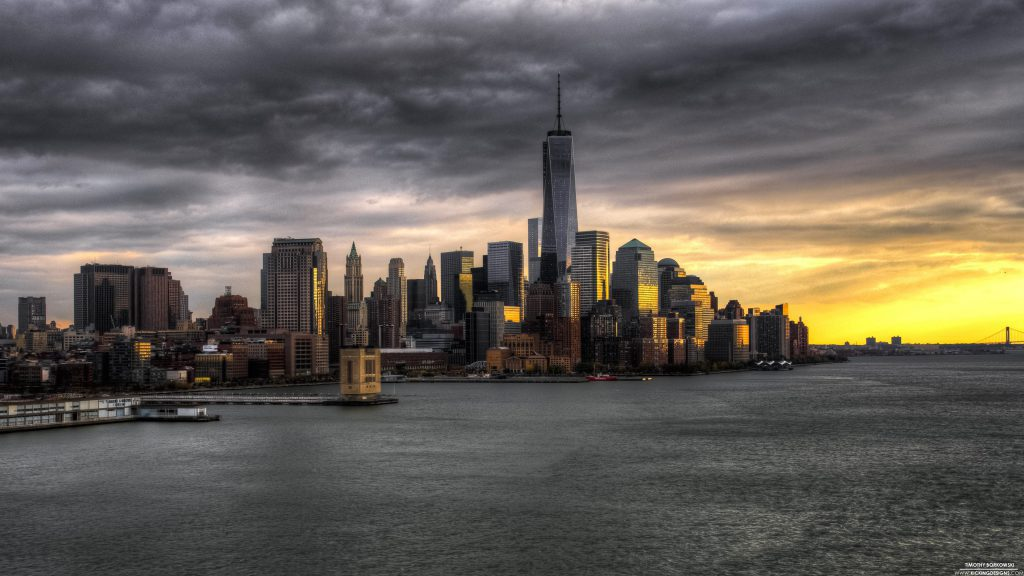 New York City Skyline Wallpaper