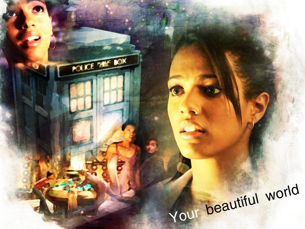 Martha Jones - Beautiful World Wallpaper