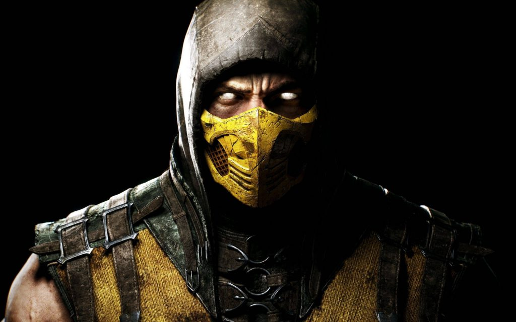 Mortal Combat Scorpion - Ultra HD Wallpaper