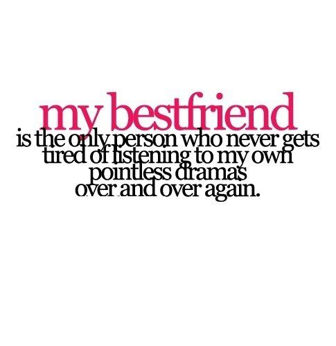 My Best Friend - quote