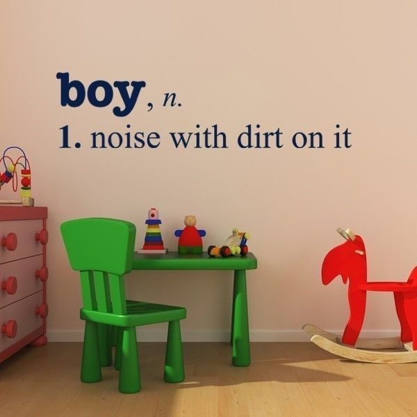 Definition Of Boy - noise with dirt on it - really funny picture