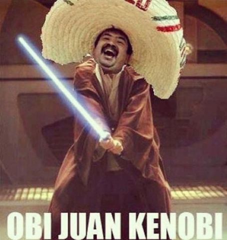 Obi Juan Kenobi - Really Funny Picture