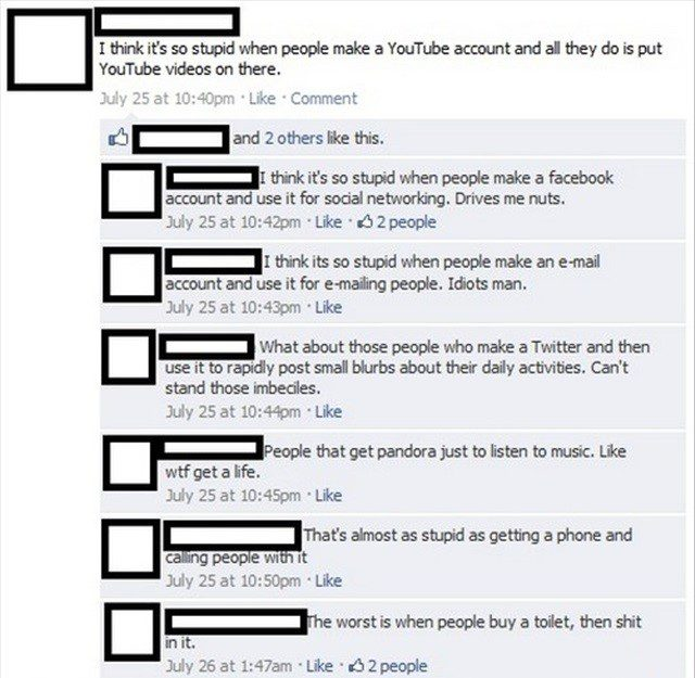 It's So Stupid - Funny Facebook Post
