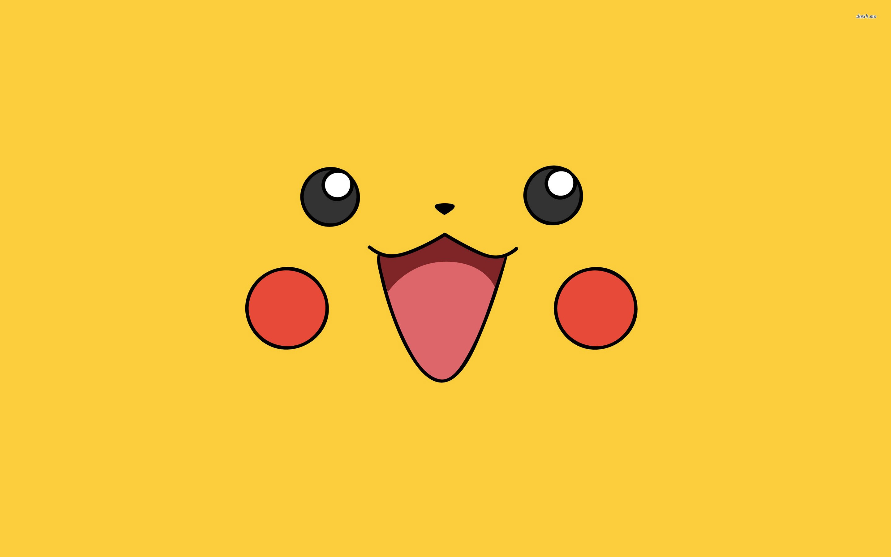 pikachu face wallpaper