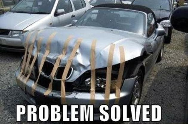 Problem Solved - Really Funny Picture