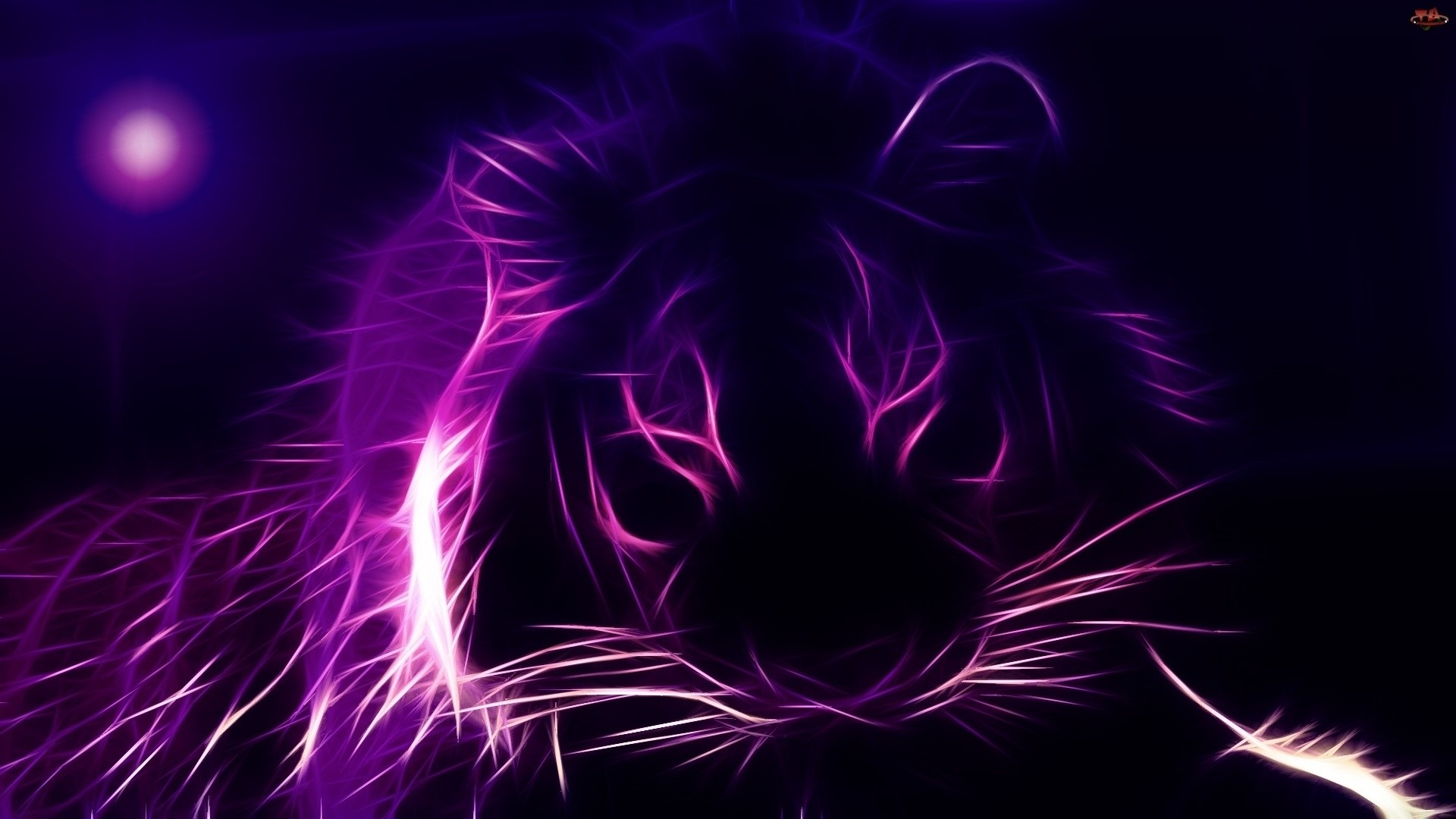 purple tiger wallpaper
