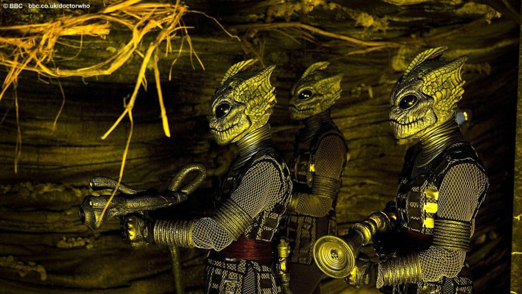 The Silurians - Dr. Who Wallpaper