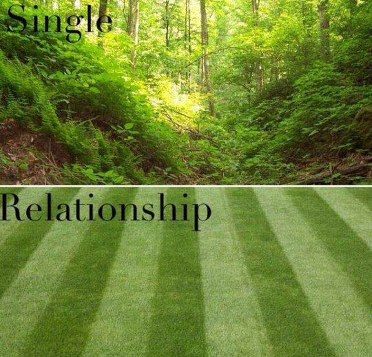 Single And In A Relationship - funny meme