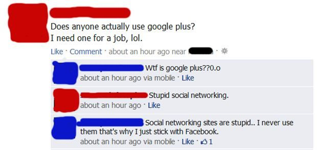 Social Networking - Funny Facebook Post