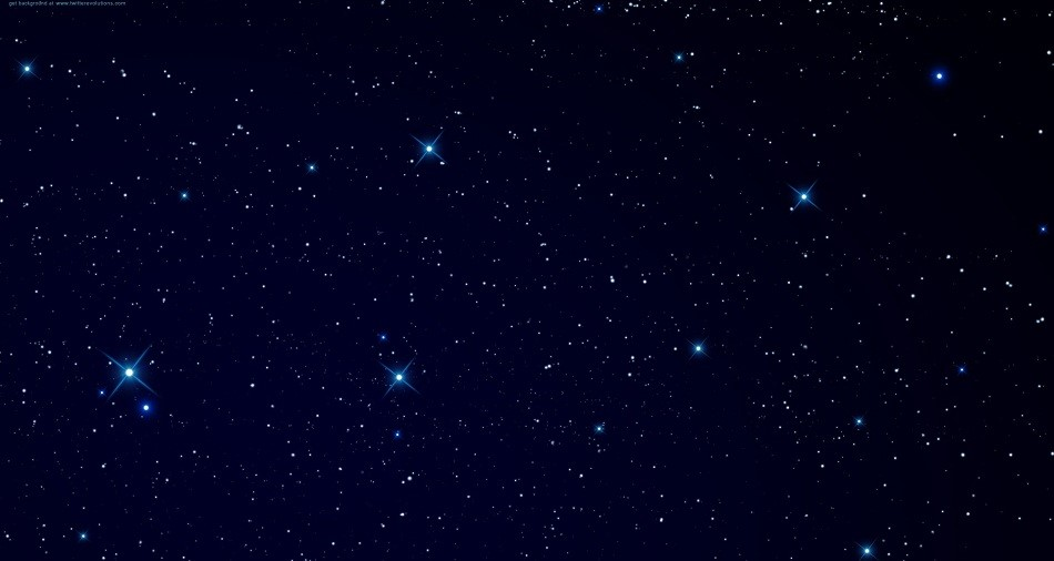 stars in the sky twitter background