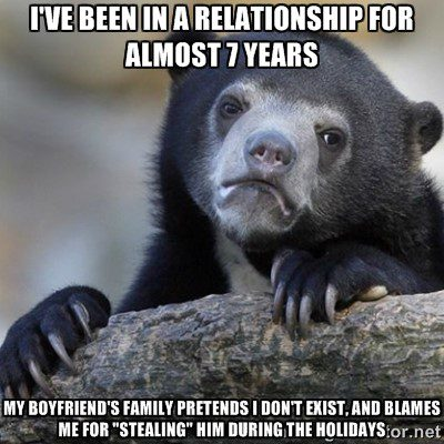 7 Year Relationship - funny meme