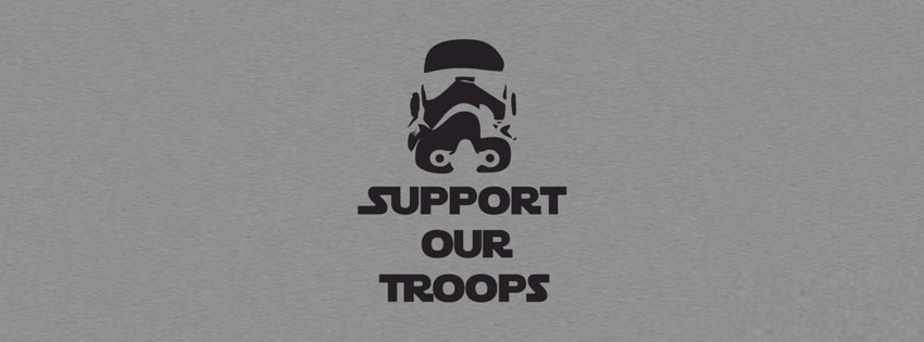 support troops funny facebook cover photo