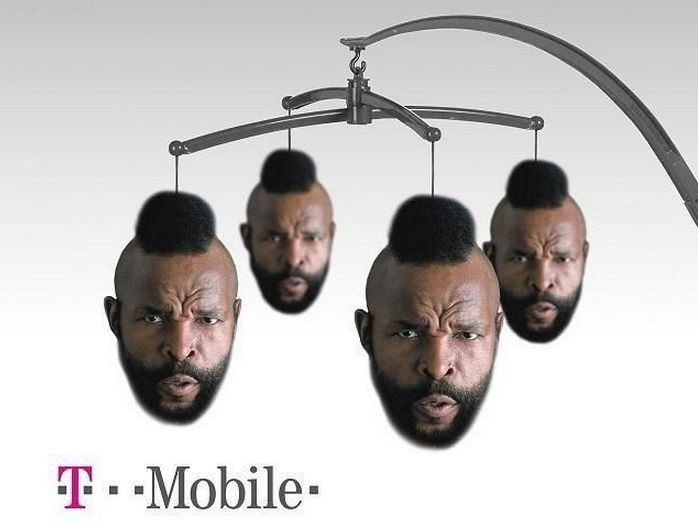 Funny T-Mobile Photo - Mr. T