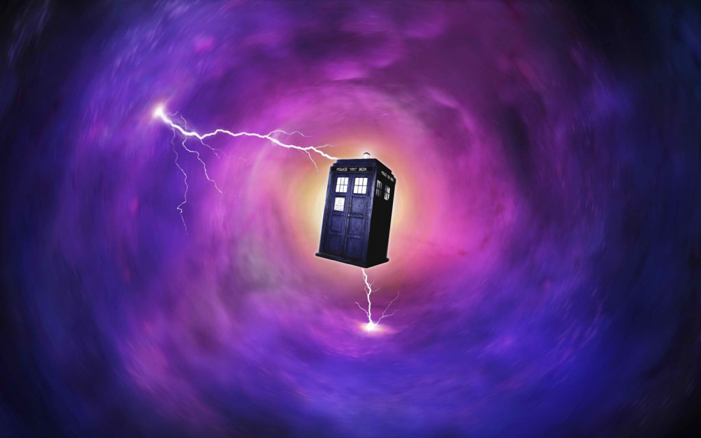 Through Space And Time Tardis Wallpaper