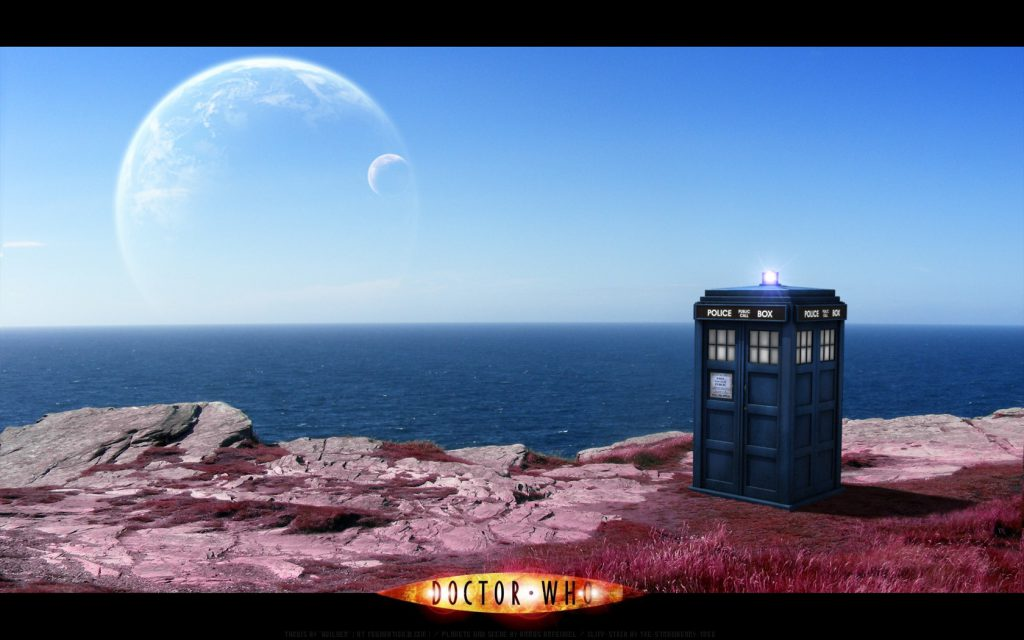 In Another World - Doctor Who Wallpaper