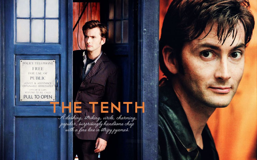 The Tenth Doctor - Wallpaper Background
