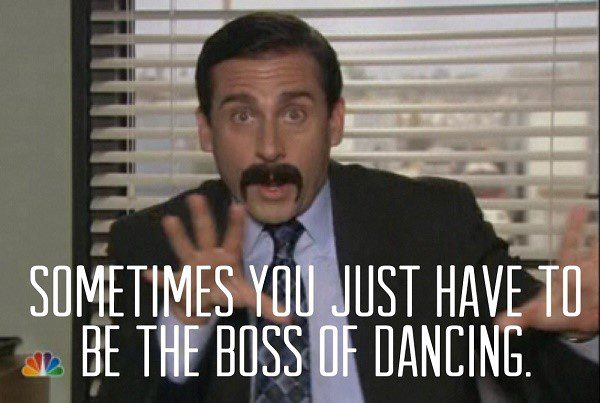 Be The Boss Of Dancing