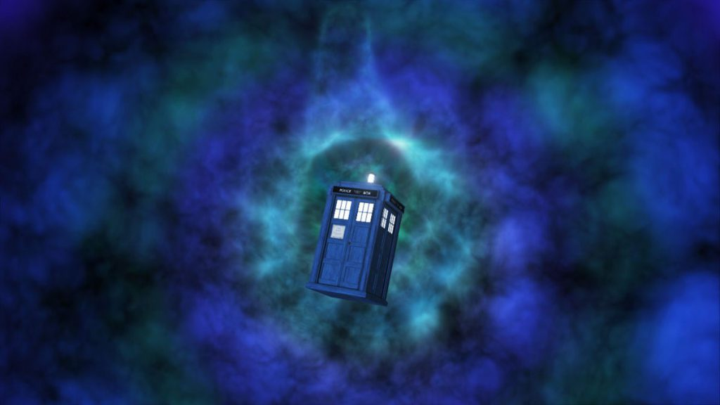 Time Vortex  Tardis Wallpaper