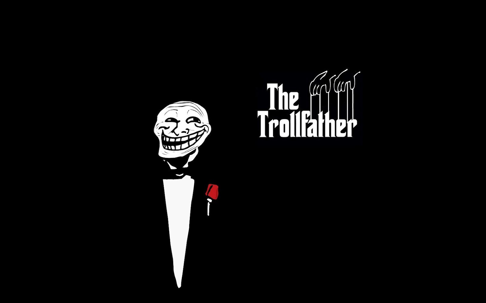 trollfather funny background