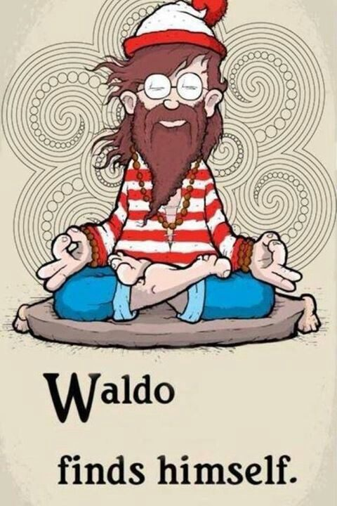 Waldo Finds Himself - Really Funny Picture