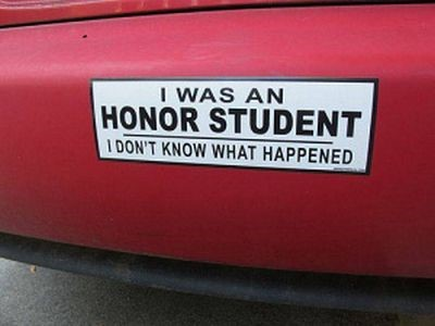 was and honor student