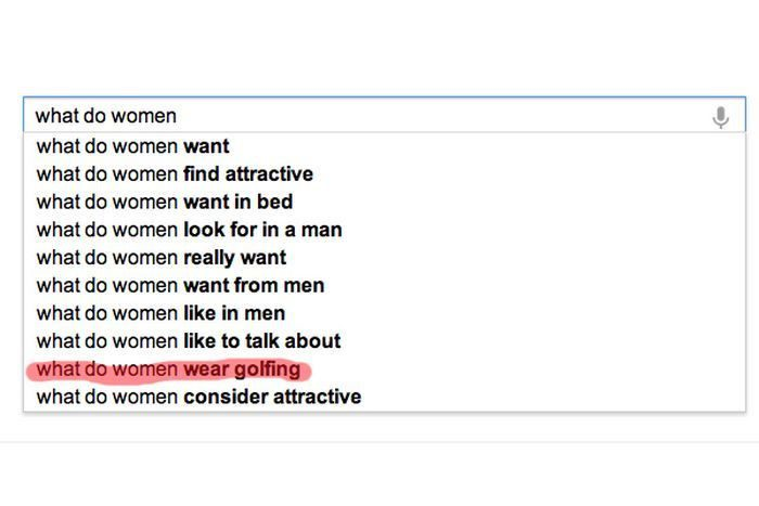 What Do Women - Funny Google Search Suggestion