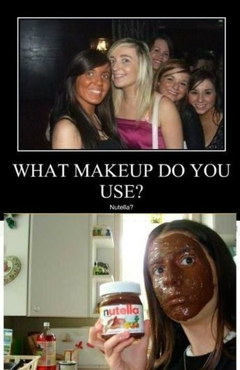 What Makeup Do You Use - Really Funny Picture