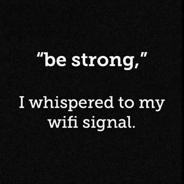 whispered to my wifi