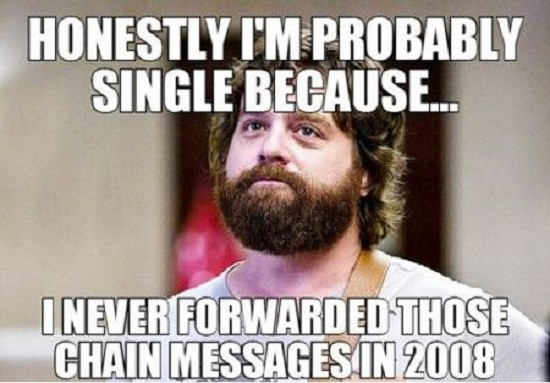 50 Best Memes About Being Single