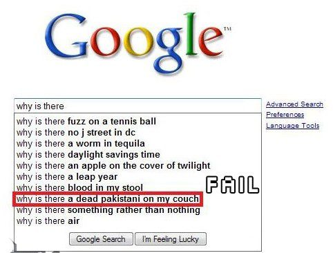 Why is There - Funny Google Search Suggestions