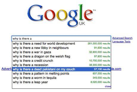 The 50 Best Funny Google Search Suggestions