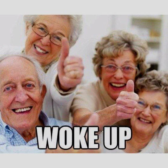 Woke Up! - Funny Caption Photo