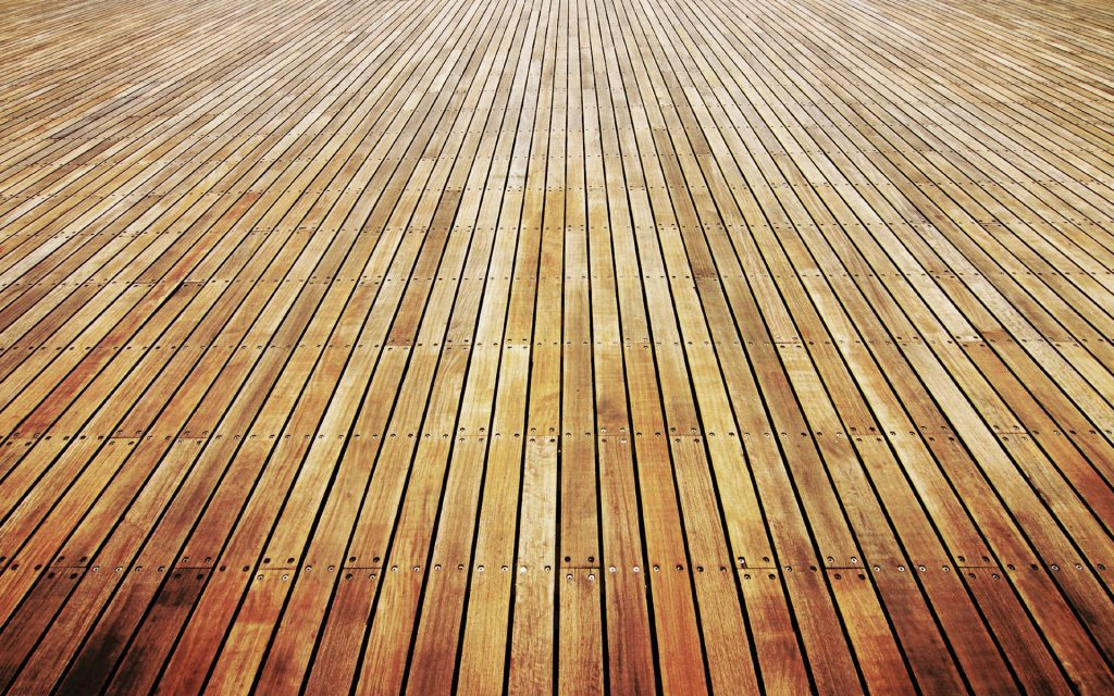 The Winter Lake Wallpaper - wooden plank deck background