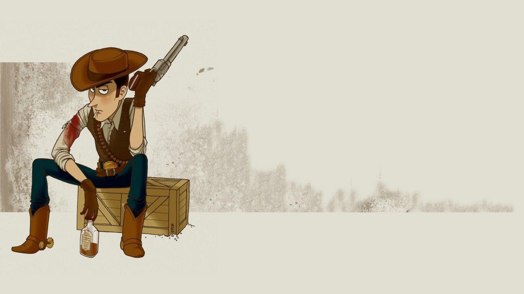 A Realistic Drawing of woody from toy story Wallpaper Background